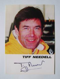 Tiff Needell autograph