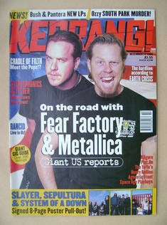 <!--1998-12-12-->Kerrang magazine - 12 December 1998 (Issue 729)
