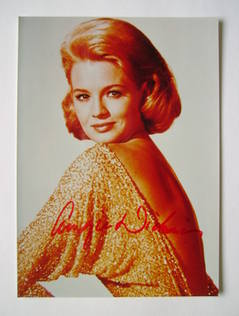 Angie Dickinson autograph (hand-signed photograph)