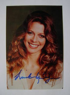 Lindsay Wagner autograph