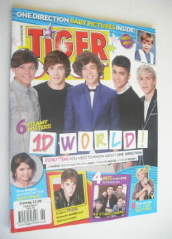 Tiger Beat magazine - June 2012 - One Direction cover