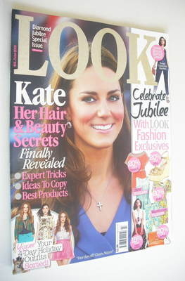 <!--2012-06-04-->Look magazine - 4 June 2012 - Kate Middleton cover