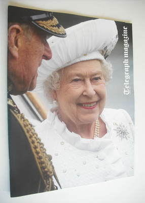 <!--2012-06-09-->Telegraph magazine - The Queen cover (9 June 2012)