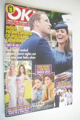 <!--2012-07-10-->OK! magazine - Prince William and Kate Middleton cover (10