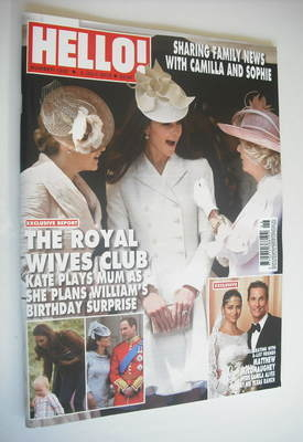 <!--2012-07-02-->Hello! magazine - The Royal Wives Club cover (2 July 2012