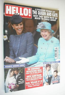 <!--2012-06-25-->Hello! magazine - Queen Elizabeth II and Kate Middleton co