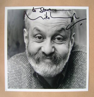 Mike Leigh autograph