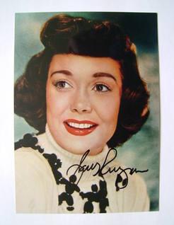 Jane Wyman autograph