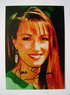 Jane Seymour autograph