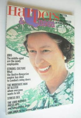 <!--1979-08-->British Harpers & Queen magazine - August 1979 - Queen Elizab
