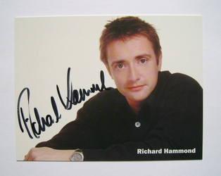 Richard Hammond autograph