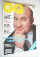 <!--1991-05-->British GQ magazine - May 1991 - Bob Hoskins cover
