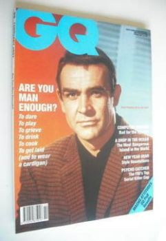 British GQ magazine - February 1991 - Sean Connery cover