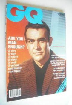 <!--1991-02-->British GQ magazine - February 1991 - Sean Connery cover