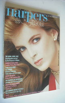 <!--1982-06-->British Harpers & Queen magazine - June 1982