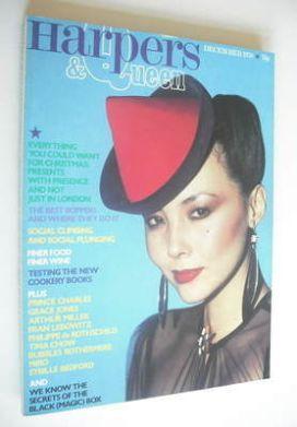 <!--1978-12-->British Harpers & Queen magazine - December 1978 - Marie Helv