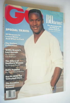 US GQ magazine - March 1990 - Bo Jackson cover