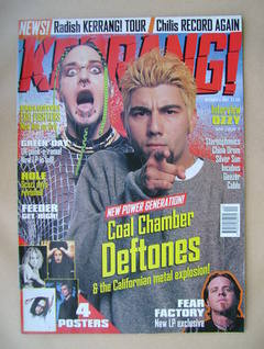 <!--1997-10-04-->Kerrang magazine - 4 October 1997 (Issue 668)