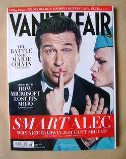 <!--2012-08-->Vanity Fair magazine - Alec Baldwin cover (August 2012)