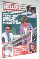 <!--1991-08-17-->Hello! magazine - Princess Diana and Prince Charles cover (17 August 1991 - Issue 165)