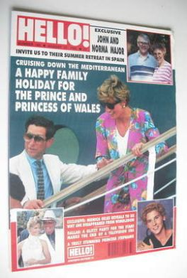 <!--1991-08-17-->Hello! magazine - Princess Diana and Prince Charles cover