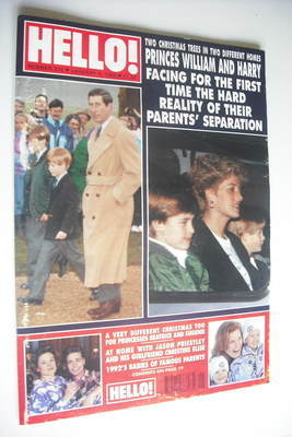 <!--1993-01-09-->Hello! magazine - Princess Diana and Prince Charles cover