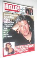 <!--1995-09-09-->Hello! magazine - Richard Gere cover (9 September 1995 - Issue 372)