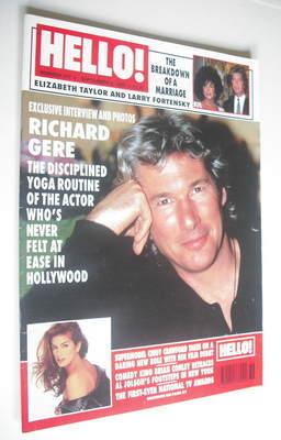 <!--1995-09-09-->Hello! magazine - Richard Gere cover (9 September 1995 - I