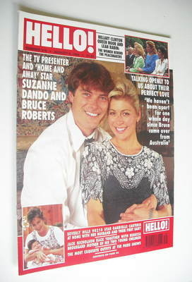 <!--1994-08-06-->Hello! magazine - Suzanne Dando and Bruce Roberts cover (6