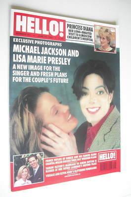 Hello Magazine Michael Jackson And Lisa Marie Presley C