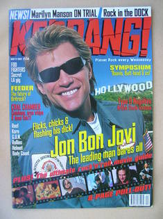 <!--1997-05-17-->Kerrang magazine - Jon Bon Jovi cover (17 May 1997 - Issue