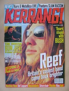<!--1997-01-18-->Kerrang magazine - Gary Stringer cover (18 January 1997 -