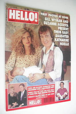 <!--1994-10-22-->Hello! magazine - Bill Wyman and Suzanne Accosta cover (22