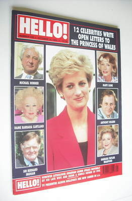 <!--1994-10-15-->Hello! magazine - Princess Diana cover (15 October 1994 -