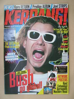 <!--1997-04-12-->Kerrang magazine - Gavin Rossdale cover (12 April 1997 - I