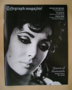 <!--2011-11-19-->Telegraph magazine - Elizabeth Taylor cover (19 November 2