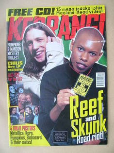 <!--1997-03-22-->Kerrang magazine - Gary Stringer and Skin cover (22 March