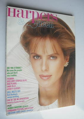 <!--1982-08-->British Harpers & Queen magazine - August 1982