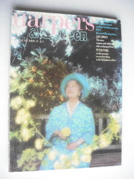 <!--1980-08-->British Harpers &amp; Queen magazine - August 1980 - Queen Mother cover