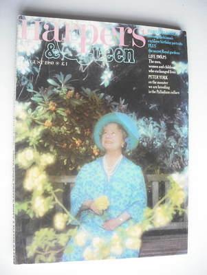 <!--1980-08-->British Harpers & Queen magazine - August 1980 - Queen Mother