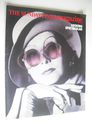 <!--1984-06-10-->The Sunday Times magazine - Greta Garbo cover (10 June 198