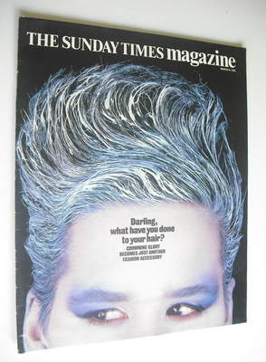 <!--1985-03-24-->The Sunday Times magazine - Darling, What Have You Done To