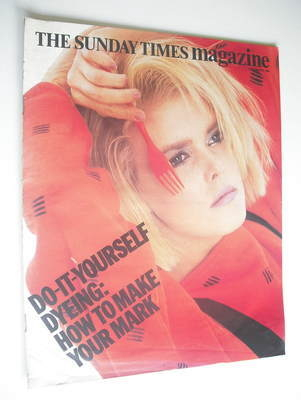 <!--1984-09-02-->The Sunday Times magazine - How To Make Your Mark cover (2
