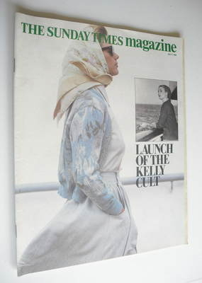 <!--1984-07-01-->The Sunday Times magazine - Launch Of The Kelly Cult cover