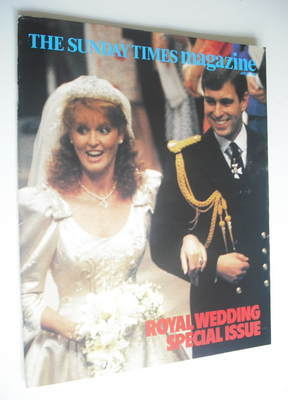 <!--1986-07-27-->The Sunday Times magazine - Prince Andrew and Sarah Fergus
