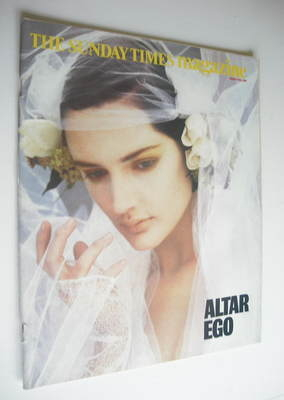 <!--1986-03-30-->The Sunday Times magazine - Altar Ego cover (30 March 1986