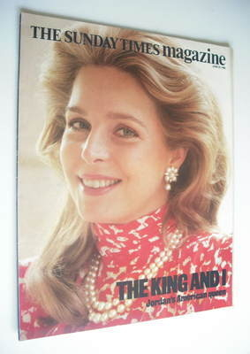 <!--1986-06-29-->The Sunday Times magazine - Queen Noor cover (29 June 1986