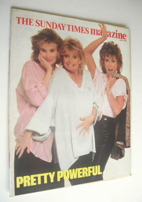 <!--1986-07-06-->The Sunday Times magazine - Jessica Lange, Goldie Hawn and