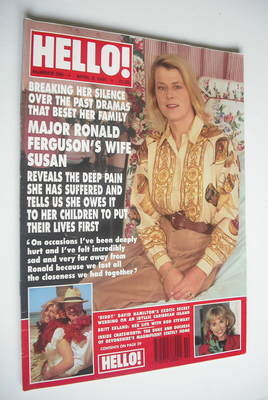 <!--1994-04-09-->Hello! magazine - Susan Ferguson cover (9 April 1994 - Iss
