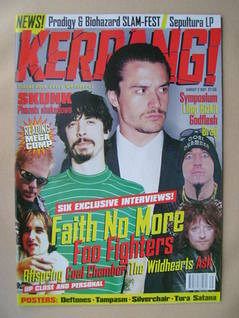 <!--1997-08-02-->Kerrang magazine - 2 August 1997 (Issue 659)
